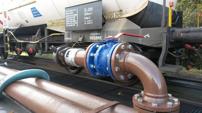 Správa státních hmotných rezerv odvezla naftu i z posledního českého skladu společnosti Viktoriagruppe a.s.