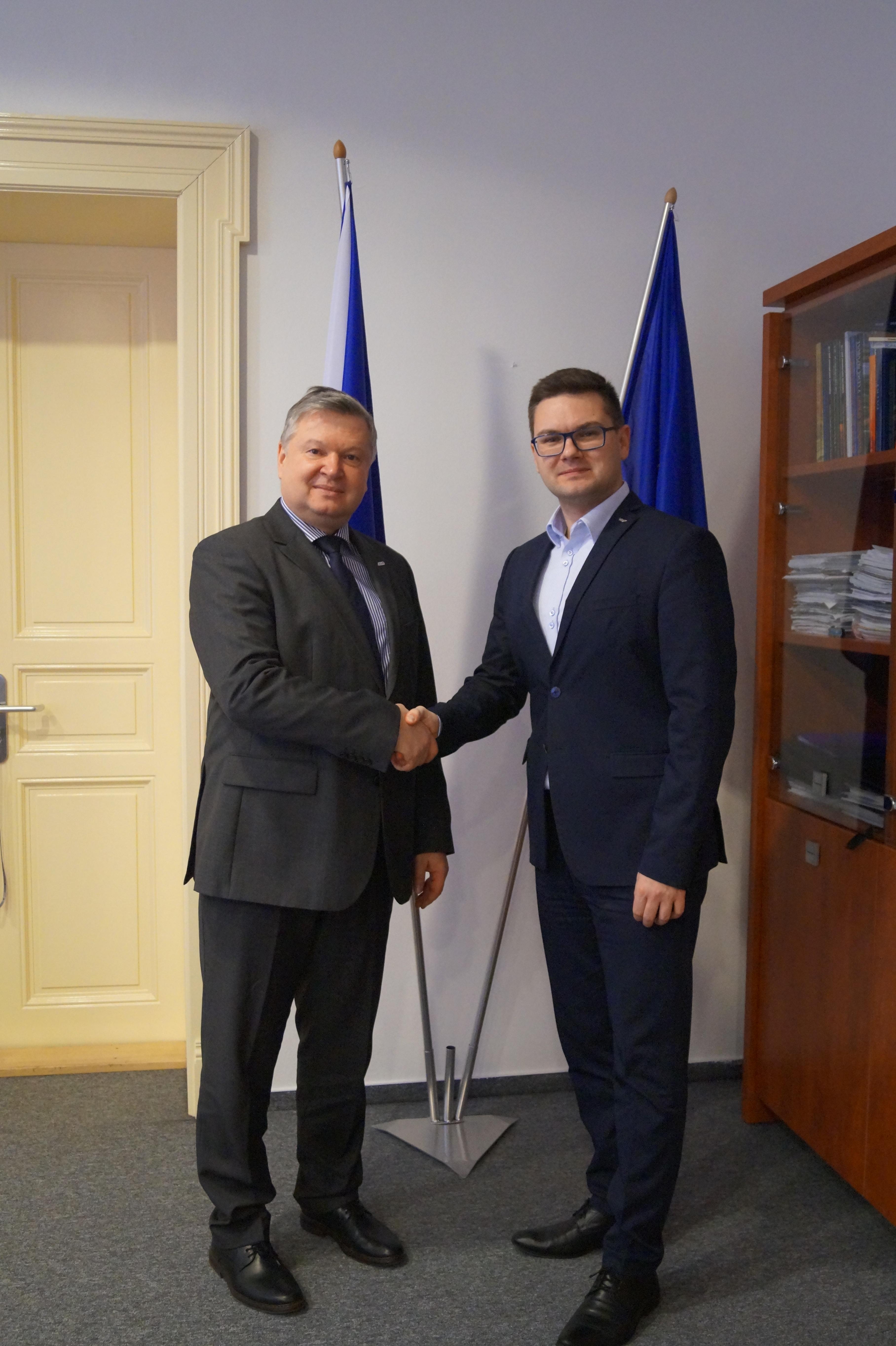 Jednání o další spolupráci mezi VTÚ s.p. a SSHR