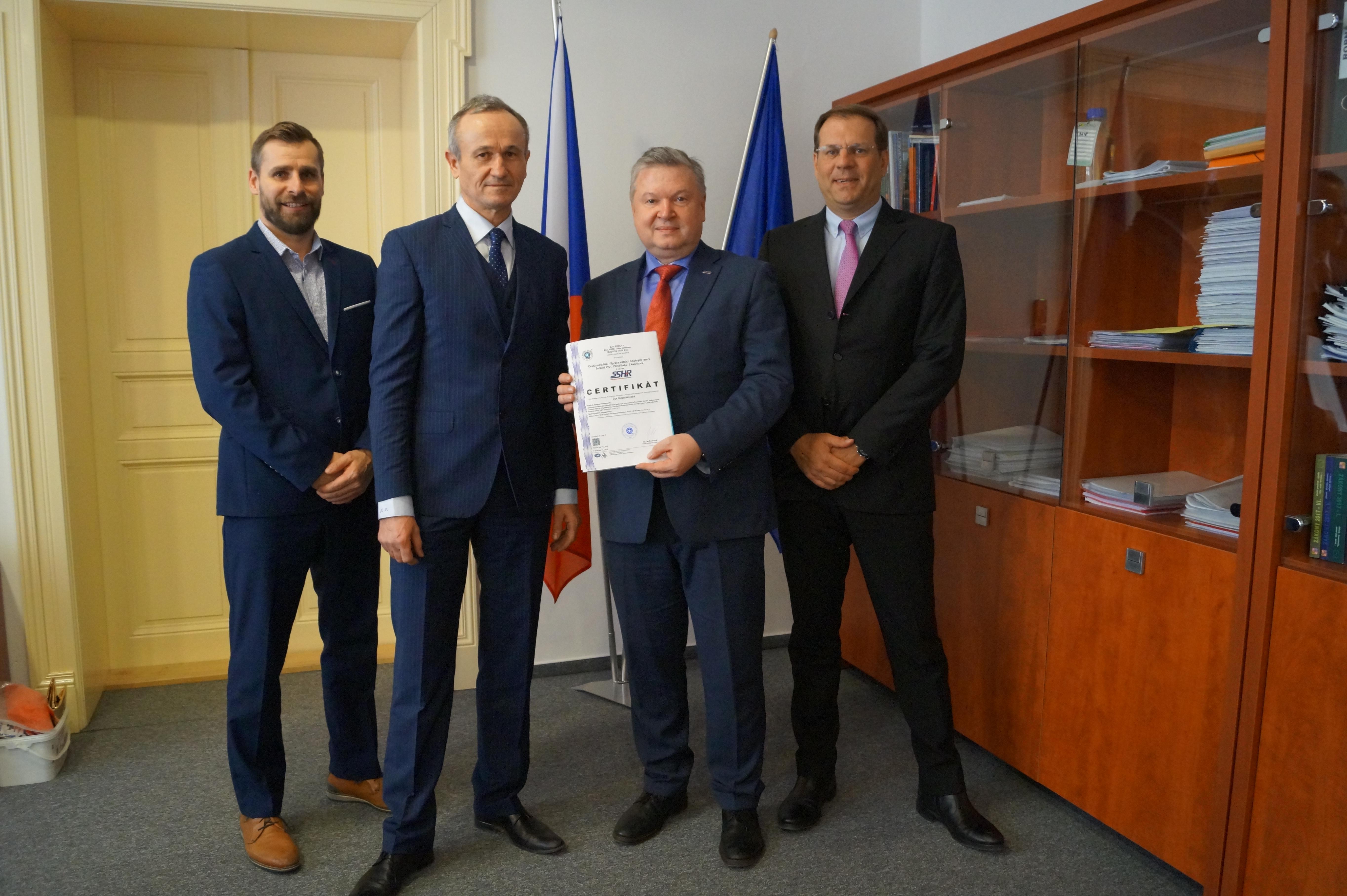 Správa získala certifikát ISO 9001