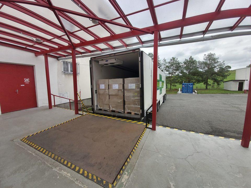 Dodání ochranných pomůcek do skladu SSHR