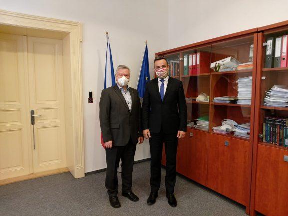 Předseda SSHR Pavel Švagr se setkal s novým šéfem Správy státních hmotných rezerv Slovenské republiky