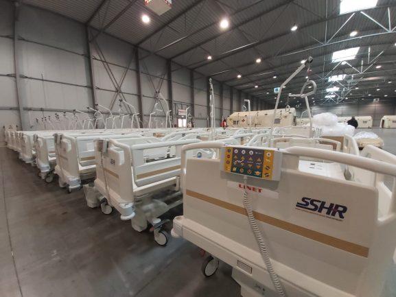 Lůžka či plicní ventilátory ze SSHR mohou pomáhat v nemocnicích i po skončení nouzového stavu
