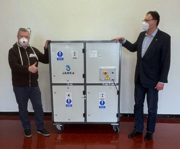 Ve skladu SSHR v Sedlčanech bude instalována speciální čistička vzduchu, má pomoci minimalizovat přítomnost virů